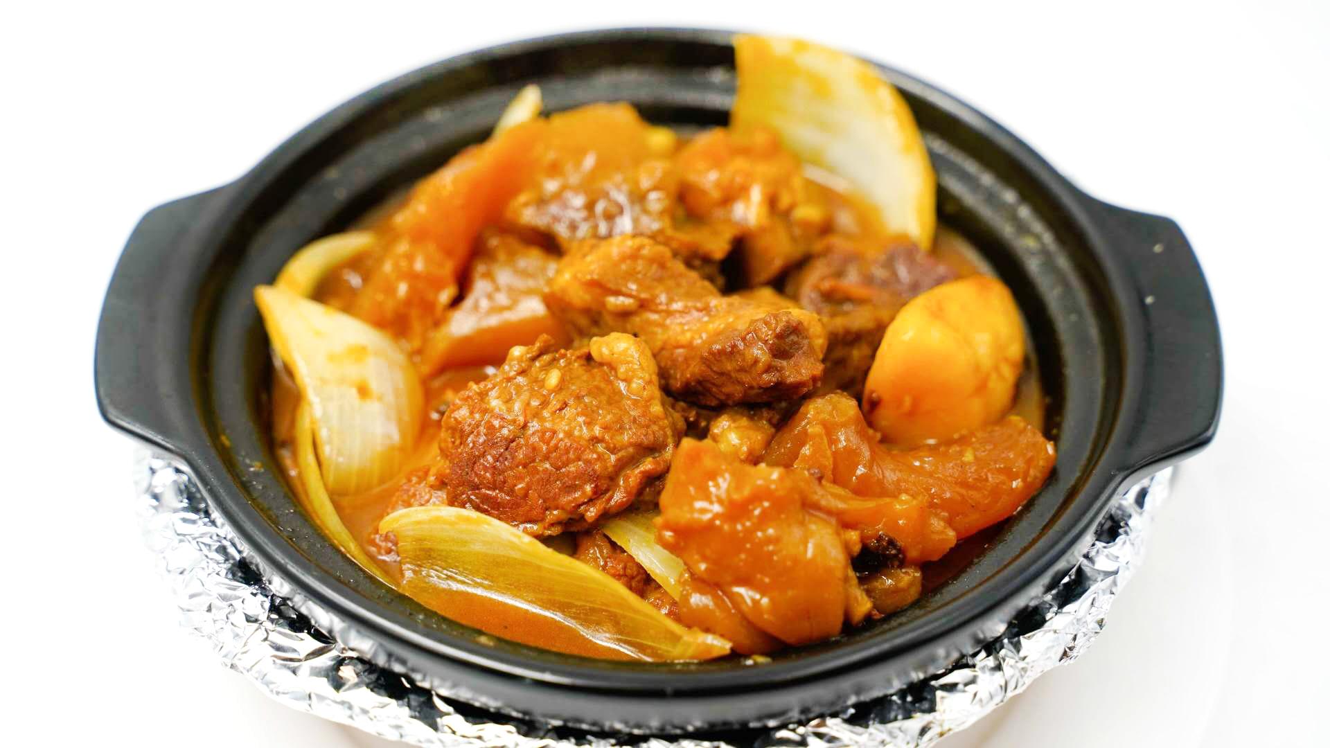 咖喱牛腩煲